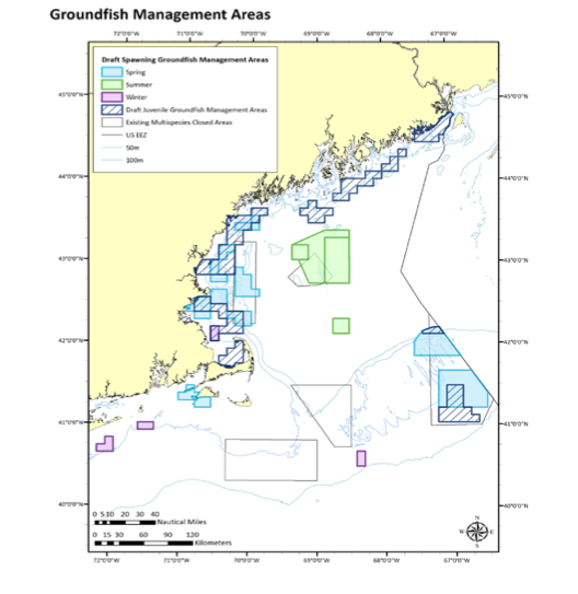 Groundfish Management Areas